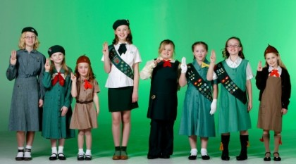 """Girl Scouts Uniform – True to Their Motto, """"Be Prepared""""!"""