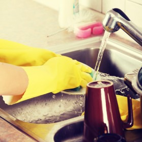 How to Clean a Kitchen Fast