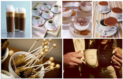Coffee Wedding Theme- Doing Something Unique