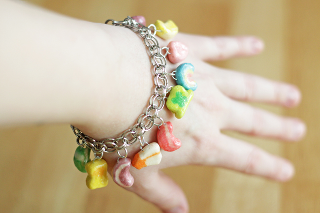 What do I need to make a charm bracelet?