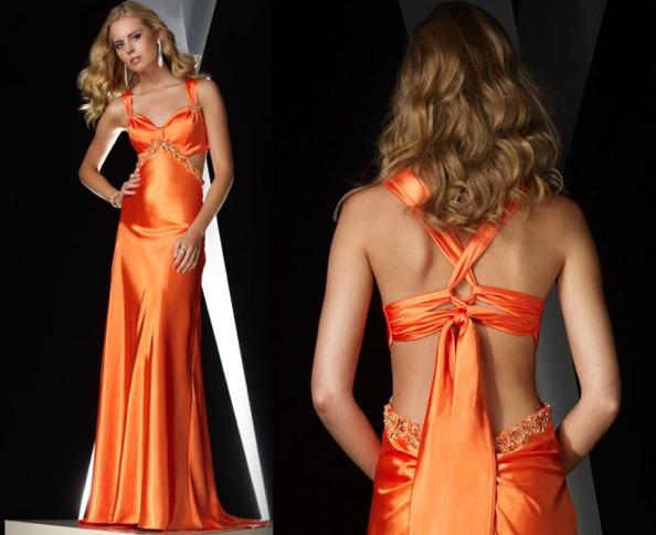 Orange Prom Dresses, 2016's Hottest Trend